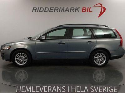 begagnad Volvo V50 1.8 Flexifuel 125hk M-Värm Nyservad