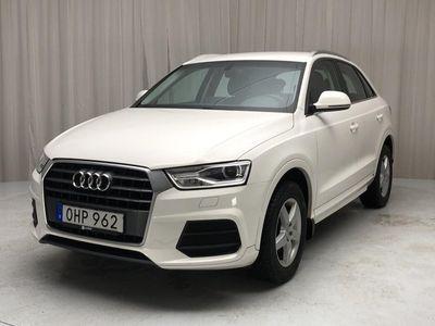 begagnad Audi Q3 2.0 TDI 2017, SUV 186 000 kr