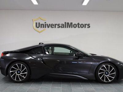 begagnad BMW i8 1.5 + 7.1 kWh 362hk Sv-såld Head-up H&K