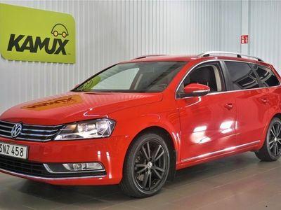begagnad VW Passat Variant 2.0 TDI BlueMotion Drag SoV hjul
