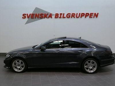 begagnad Mercedes CLS350 CDI BE AMG-Pkt 7G-Tronic Taklucka Läder
