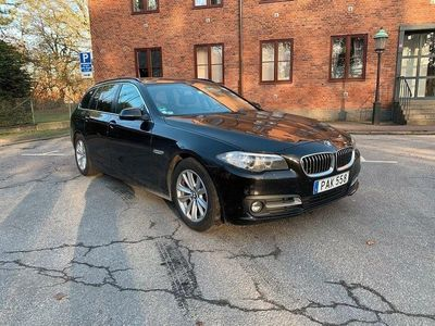 begagnad BMW 520 d xDrive Touring Aut, skinn, SoV-hjul