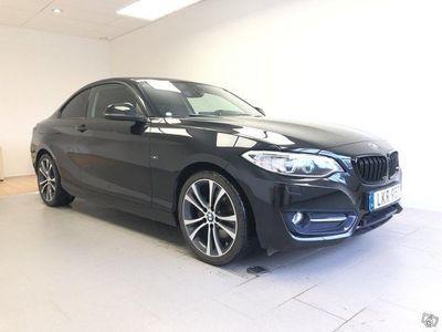 begagnad BMW 220 i Coupé Steptronic Sportline 184hk