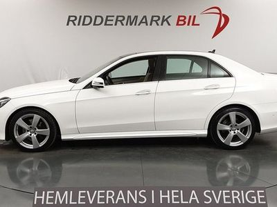 begagnad Mercedes E250 CDI 4M 7G AMG SPORT 204HK 360°K *SE SPEC