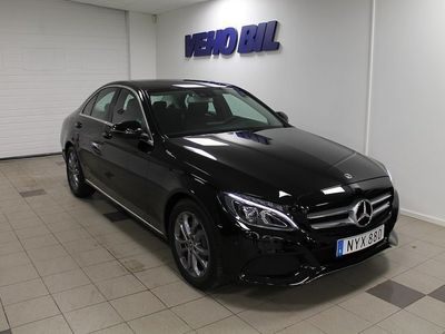 begagnad Mercedes C220 d Sedan Navi Aut