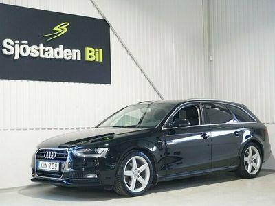 begagnad Audi A4 2.0 TDI Quattro S-Line Drag NAV Eu6 190hk