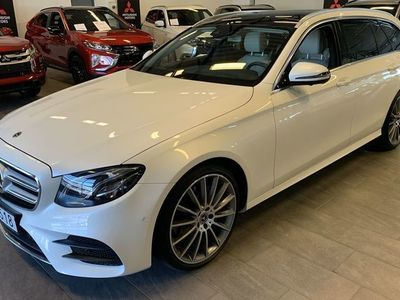 begagnad Mercedes E220 E-klass4-Matic AMG