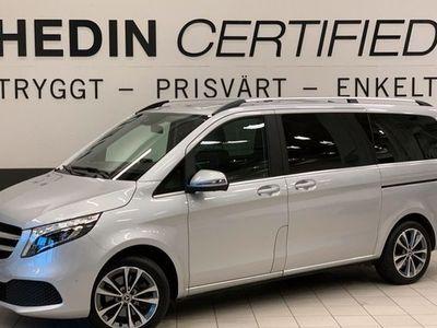 begagnad Mercedes V250 V Benzd 9G-Tronic Avantgarde Lång 2020, Minibuss 529 900 kr