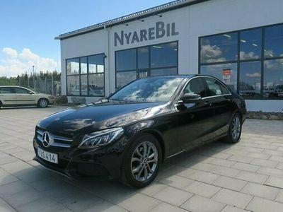 begagnad Mercedes C220 d 9G-Tronic Automat 170hk Se pkt Premium