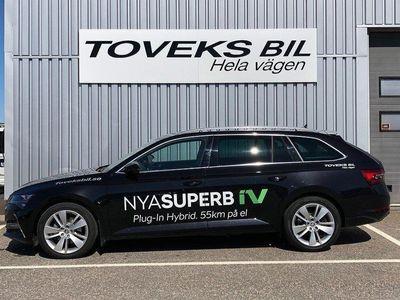 begagnad Skoda Superb Plug-In Hybrid - Finns för provk