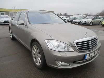 begagnad Mercedes S500L 4MATIC 7G-Tronic Exclusive Leather 388HK 0%RÄNTA