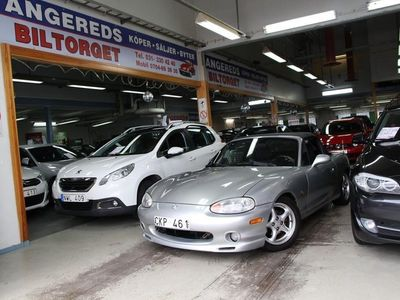 begagnad Mazda MX5 1.6 110hk NY BES 0%Ränta