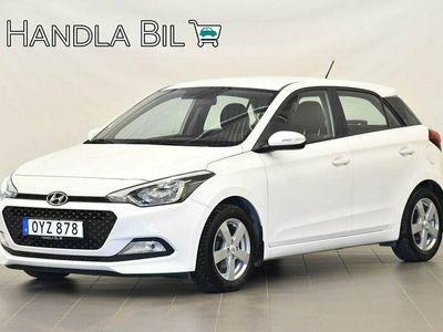 begagnad Hyundai i20 1.2 Comfort 5dr SoV 2016, Halvkombi Pris 89 900 kr