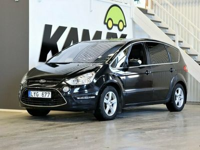 begagnad Ford S-MAX 2.2 TDCi 200hk | Business | 7-Sits | Webasto