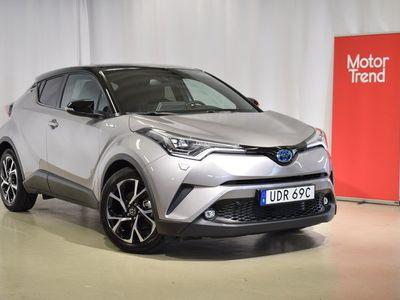 begagnad Toyota C-HR 1.8 Elhybrid X-Edition JBL Sinn Teknikpkt Bitone