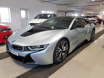 begagnad BMW i8 Hybrid HuD H/K Svensksåld