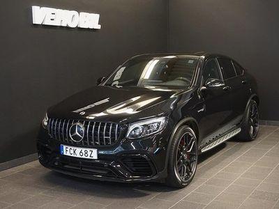 begagnad Mercedes S63 AMG GLC Benz AMGCoupé 4-Matic AMG 360-Kamera Aut Drag Nav Airmatic 2019, SUV 849 000 kr