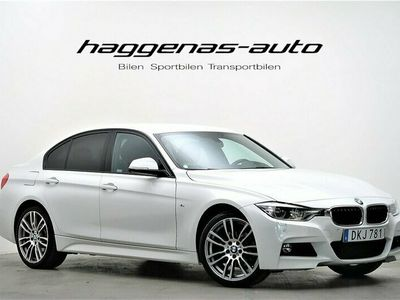 begagnad BMW 320 d XDrive / M-Sport / NAVI / Drag