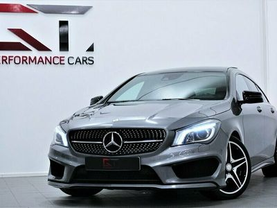 begagnad Mercedes CLA220 Shooting Brake d SB AMG Pano Navi Kamera H&K Eu6