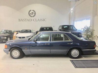 """brugt Mercedes 560 SEL """"Svensksåld"""" -89"""
