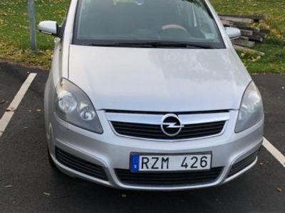 begagnad Opel Zafira 1,8 7-sits 140hk -07