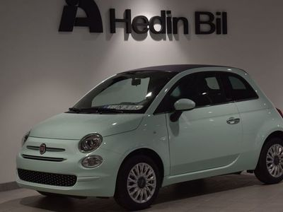 begagnad Fiat Coupé 500 LOUNGE 1.2 69 HK SERIE 7 MY20