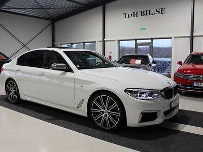 begagnad BMW M550 i xDrive Sedan Ultimate Edition V8 462HK GPS