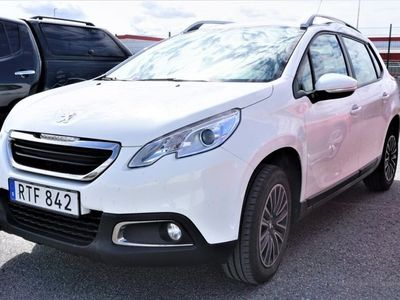 begagnad Peugeot 2008 1.2 VTi Manuell, 82hk, 2015