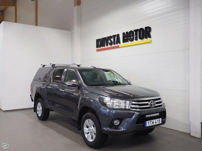 begagnad Toyota HiLux Double Cab 2.4 AWD 150 hk -17
