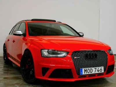 begagnad Audi RS4 4.2 V8 450hk Exclusive Sv-såld Full-utr