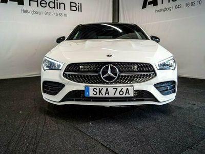 begagnad Mercedes 200 CLA BenzShooting Brake AMG Line Nightpacka 2020, Sportkupé Pris 359 900 kr