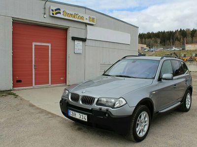 begagnad BMW X3 3.0i (231hk) AUTO-DRAG-NYBES-NYSERVAD