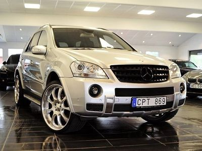 begagnad Mercedes ML63 AMG 63 AMG Brabus SpeedShift Plus Exclusive Leather
