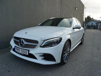 begagnad Mercedes C300 de Kombi //AMG Line//Burmester//Multibeam//