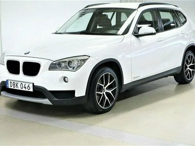 begagnad BMW X1 xDrive 20d Manuell 184hk