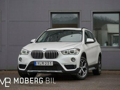 begagnad BMW X1 xDrive 18d 150hk xLine Pano Navi Hifi Drag