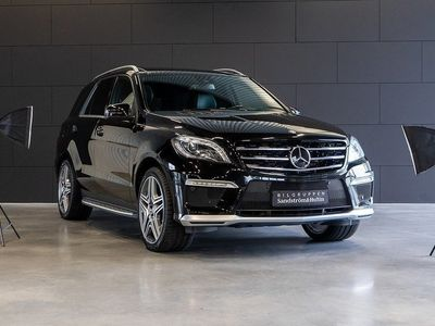 begagnad Mercedes ML63 AMG AMG Performance pack -12