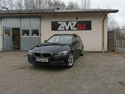 begagnad BMW 318 d Touring Steptronic Sport line Euro 6 150hk