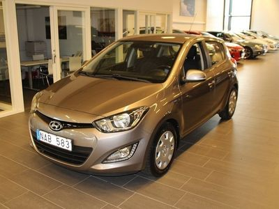 begagnad Hyundai i20 5-dörrar 1.2 Premium