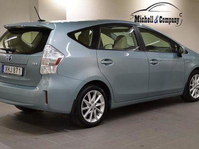 begagnad Toyota Prius AUT HYBRID FULL UTR PANORAMA 7-SITSIG 2015, Halvkombi 249 000 kr