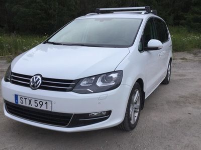 begagnad VW Sharan 2.0 TDI 4Motion (184hk)
