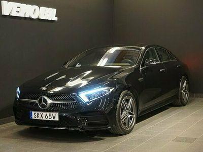 begagnad Mercedes 450 CLS Benz4-Matic AMG 360-Kamera Värmare Aut Airmatic Drag Nav 2021, Sportkupé Pris 799 000 kr