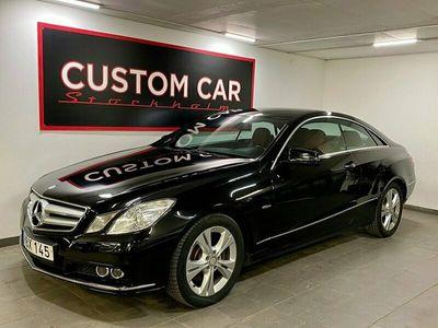 begagnad Mercedes E250 CDI Coupé BE BlueEFFICIENCY 204hk