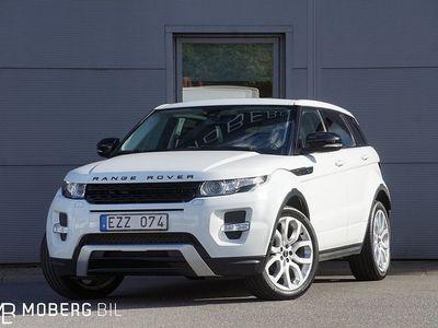 begagnad Land Rover Range Rover evoque 2.2 SD4 190hk 4WD Dynamic Panorama