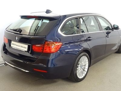 begagnad BMW 318 d Touring, Luxury Line, Dragkrok, inkl.nya v-hjul 2015, Kombi 289 000 kr
