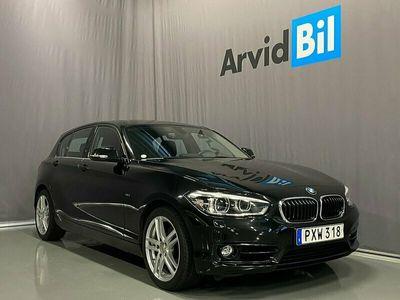 begagnad BMW 118 d xDrive 5-door Sport line Euro 6 150hk