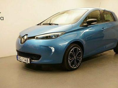 begagnad Renault Zoe R110 41 kWh Iconic batteriköp. Kvarvarande nybils 2019, Halvkombi Pris 224 900 kr