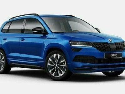begagnad Skoda Karoq SPORTLINE TSI 150 DSG 2021, SUV Pris 357 200 kr