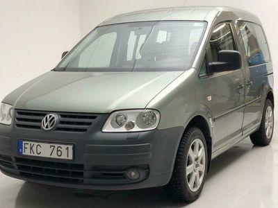 begagnad VW Caddy Life 2.0 EcoFuel
