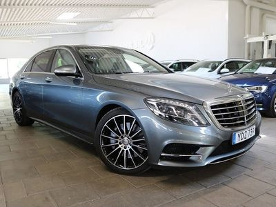 brugt Mercedes 500 S-Klass4MATIC L 7G-Tronic Plus AMG Sport EU6 455hk Nypris 1.4 Mil